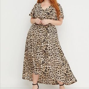 Beauticurve X Lane Bryant Animal Print Dress